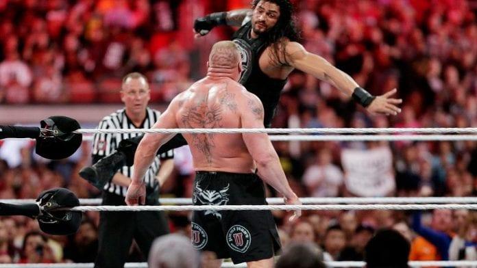 Brock Lesnar Vs Roman Reigns