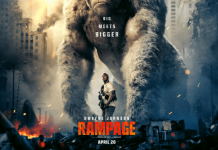 Dwayne Johnson vs. Giant Monsters In First Rampage Trailer 218x150