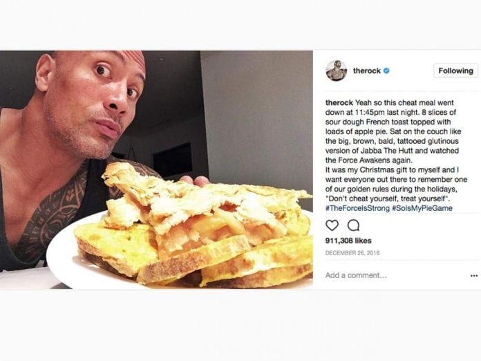 7 Dwayne The Rock Johnson Cheat Meals Page 6