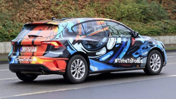 Novo Ford Focus 2018 >> 2019 Ford Focus Spy Photos Surface Again!