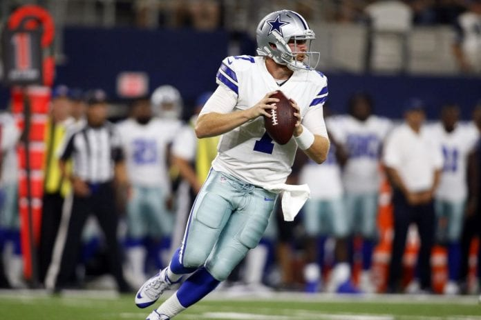 Dallas Cowboys vs. Philadelphia Eagles - Cooper Rush