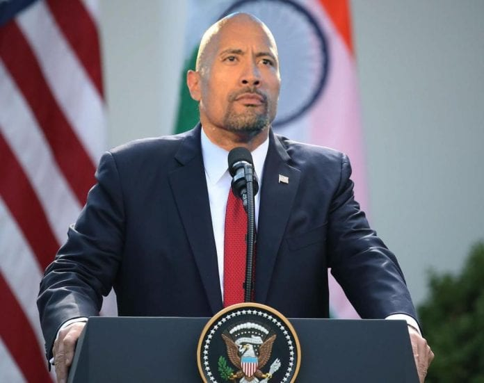 Dwayne Johnson President 2021