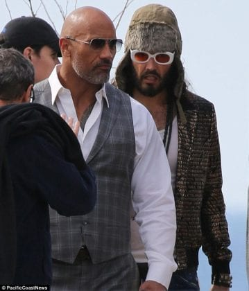 Dwayne Johnson and Russell Brandt 359x420