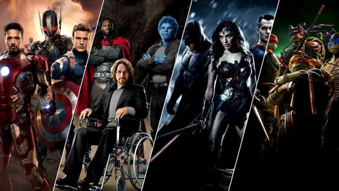 Top 10 Superhero Movies For 2018