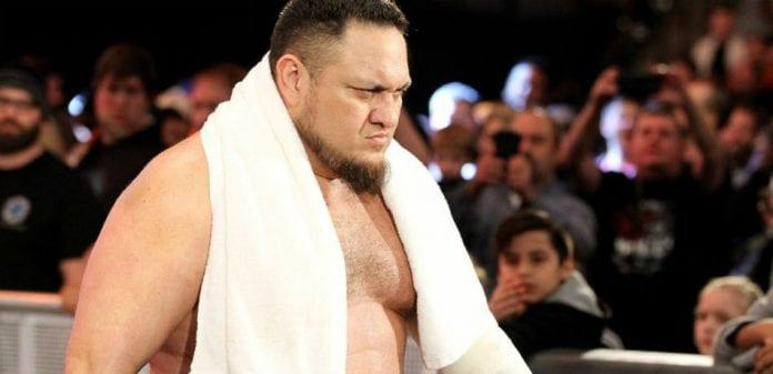 Samoa Joe Face