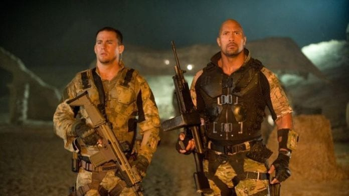 Dwayne Johnson and Tatum 696x392