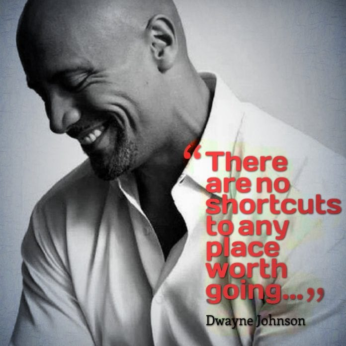 Inspirational Quotes About Positive: Top 10 Quotes From Dwayne The Rock Johnson