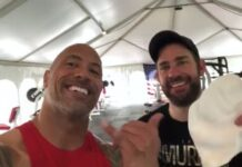 The Rock And John Krasinski Team Up To Do The Murph In Hawaii For Memorial Day 218x150