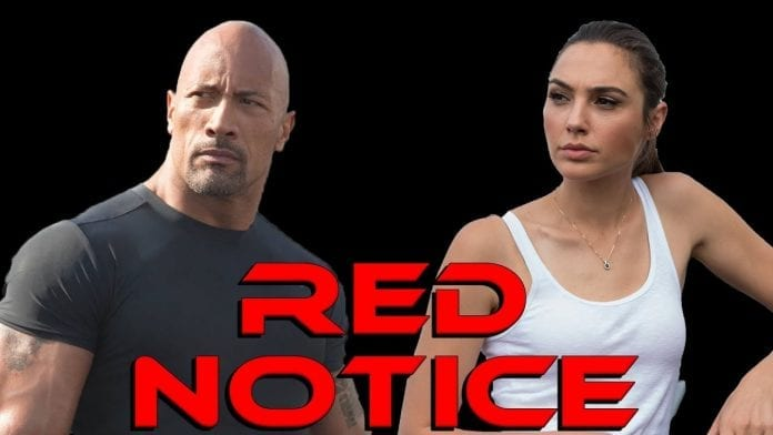 Dwayne Johnson Gal Gadot Red Notice 696x392