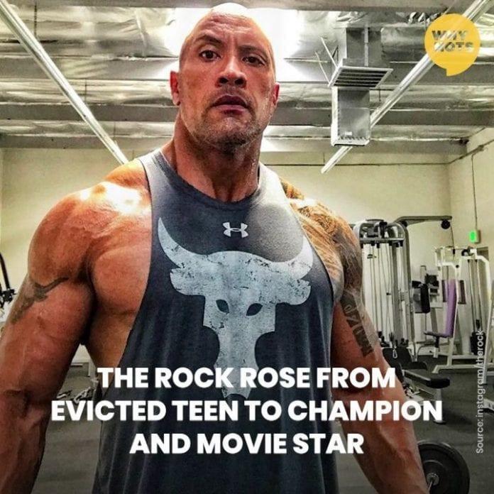 Dwayne Johnson The Rock 696x696