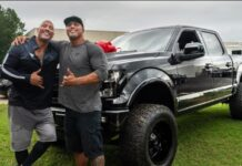 Dwayne Johnson Gives Custom Pickup Truck To His Stunt Double 218x150