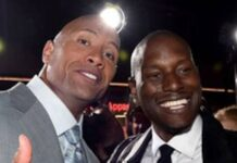 Dwayne The Rock Johnson and Tyrese Gibson are finished 218x150