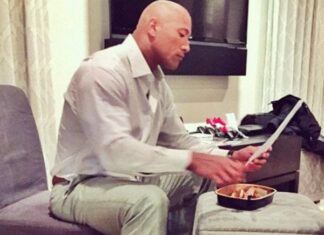 Another Crazy Cheat Meal By Dwayne The Rock Johnson 324x235