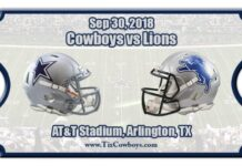 Dallas Cowboys Vs. Detroit Lions Week 4 Odds And Predictions 218x150