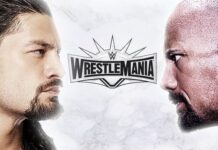 "Wrestlemania 35 Dwayne ""The Rock"" Johnson vs. Roman Reigns 218x150"