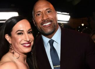dany garcia and dwayne johnson 324x235