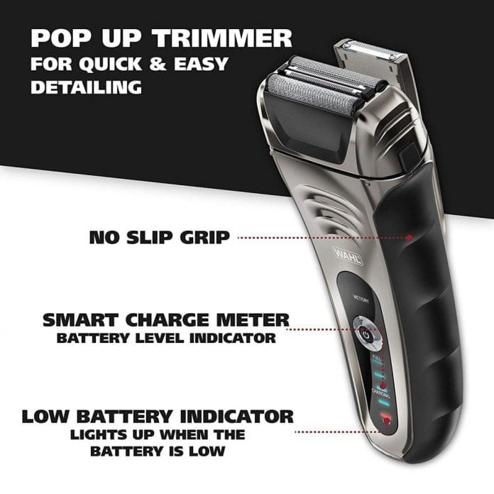 Wahl Smart Shave Rechargeable Shaver 696x696