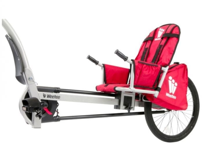 Weehoo Turbo Bike Trailer 696x527