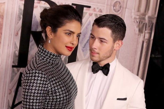 nick jonas priyanka chopra fashion week