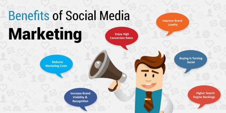 Benefits of social media 790x395