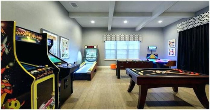 Ideas for a Small Game Room Design