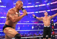 John Cena is grateful to the fellow WWE superstar The Rock 218x150