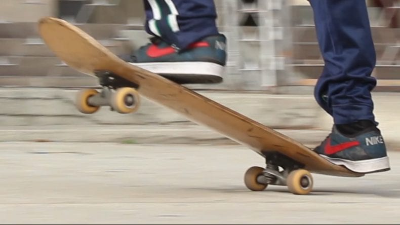 Manual on a Skateboard 790x444