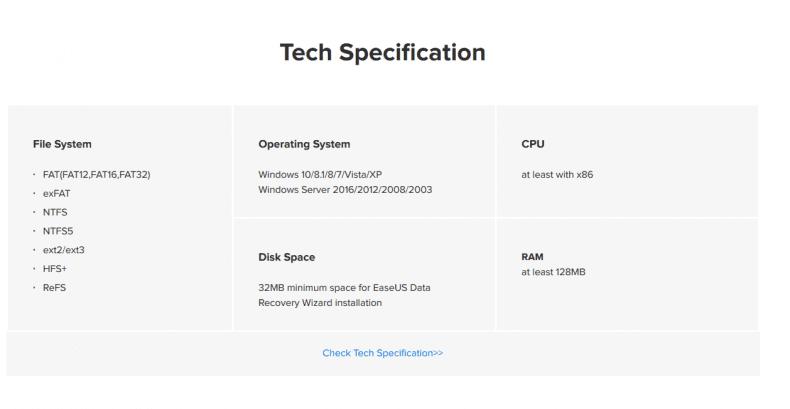 Tech Specification 790x409