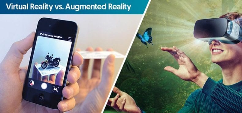 Virtual Reality vs Augmented Reality 790x369