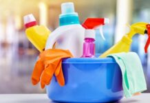 cleaning products 218x150
