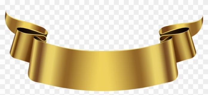 golden banner
