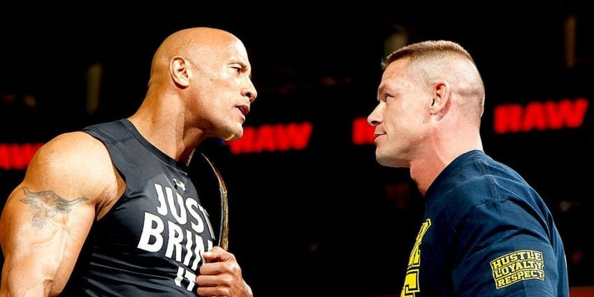 john cena dwayne johnson wrestlemania 850x425