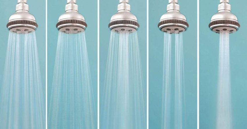low flow shower head 850x444