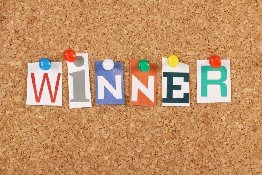 winner on contest 850x567