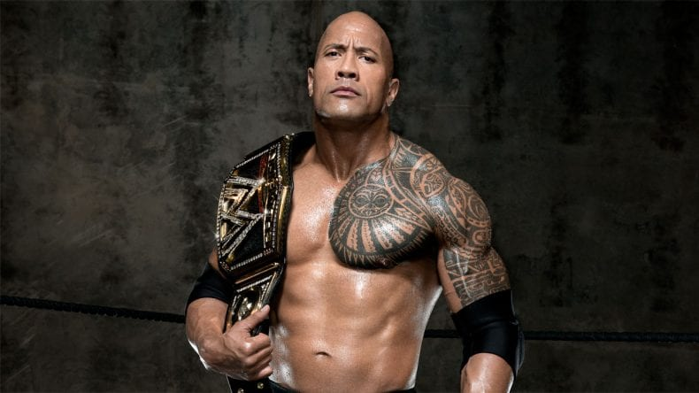 Dwayne Johnson WWE 790x444
