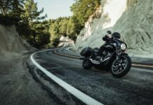Harley Davidson on the road 218x150