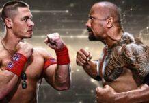 John Cena and Dwayne Johnson 218x150