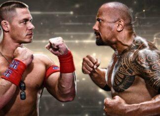 John Cena and Dwayne Johnson 324x235