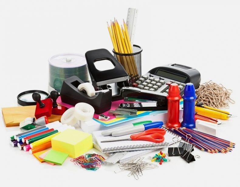Basic desk supplies 790x615