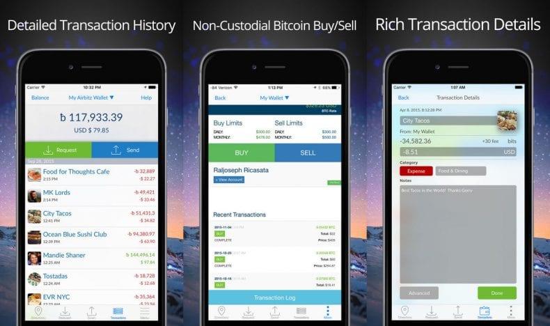Bitcoin Wallet App 790x468