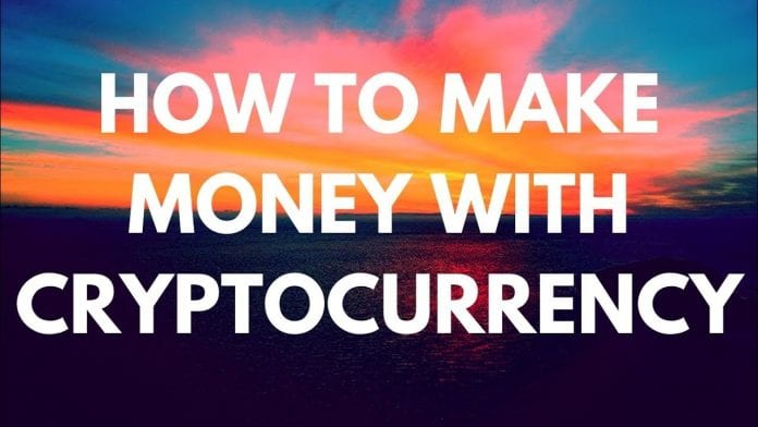 making money by cryptocurrency