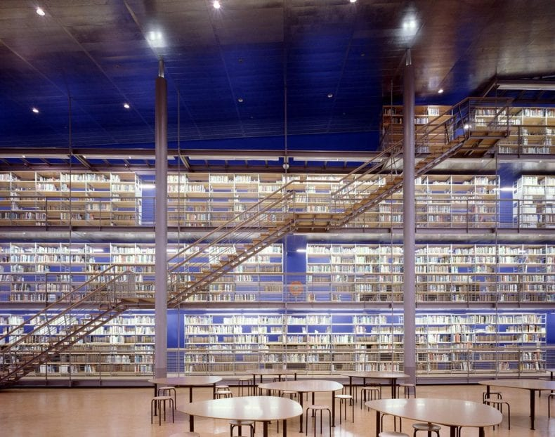 Library Technical university 790x622