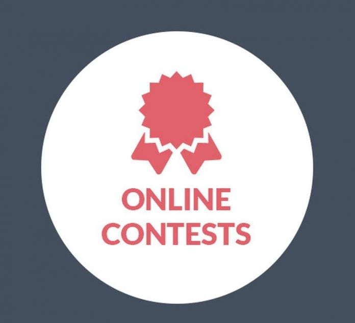 blog online contests title