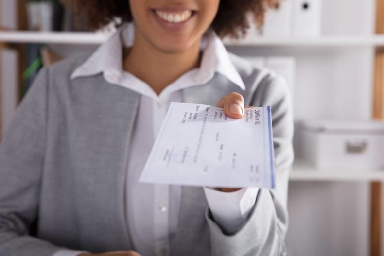 depositing rent check 790x527