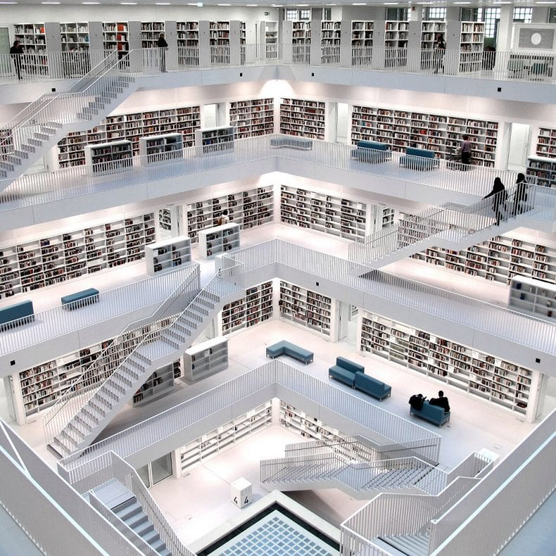 public library in Germany 790x790