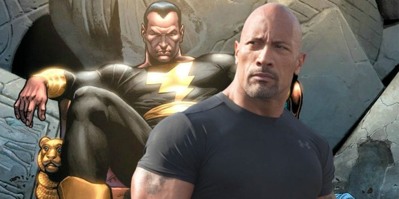 Dwayne Johnson and Black Adam 790x395