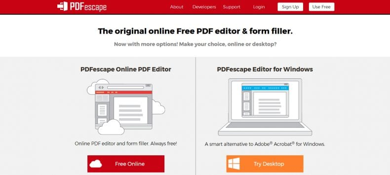 PDFescape 790x355