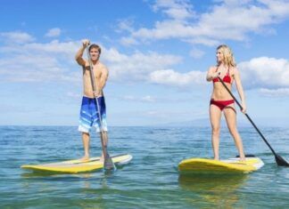 The health benefits of Paddle Boarding 324x235