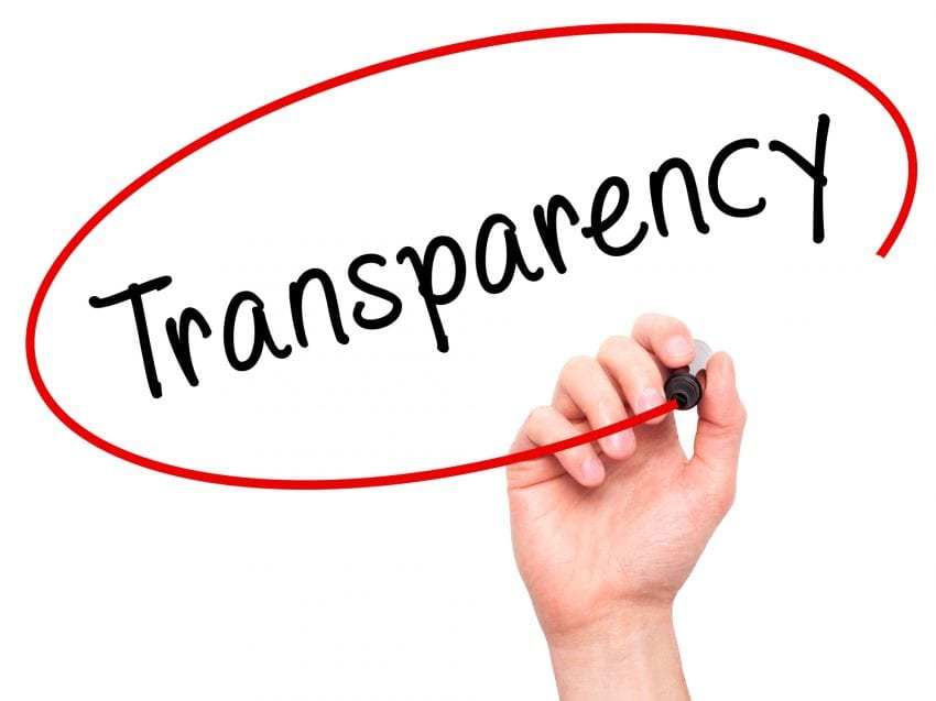Advantages of Transparency 850x637