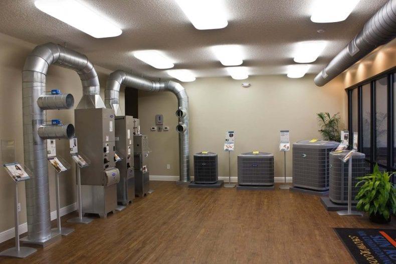 HVAC Show Room 790x527